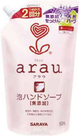 Купить Мыло жидкое для рук ''Arau'', сменный блок, 500 мл