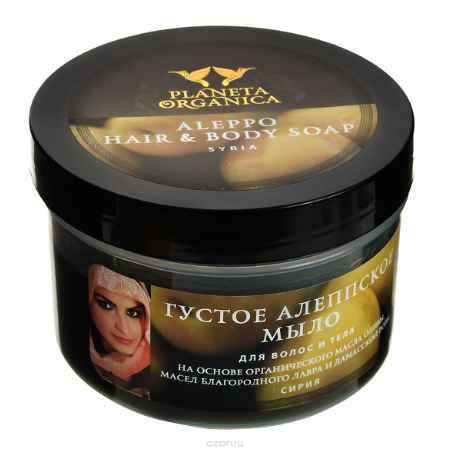 Купить Planeta Organica Густое алеппское мыло для волос и тела, 450 мл