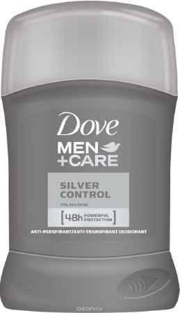 Купить Dove Men+Care Антиперспирант карандаш Заряд серебра 50 мл