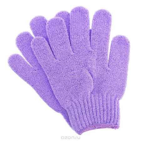 Купить Riffi Перчатки для пилинга, цвет: сиреневый