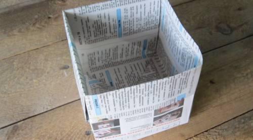 Как сделать мусорное ведро