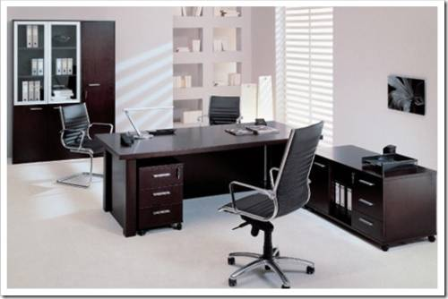 Использование офисной мебели