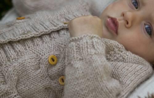 Кофты для новорожденных