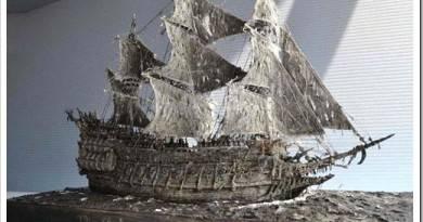 Как осуществляется сборка судна?
