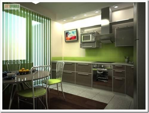 Почему размещать большой телевизор на кухне не стоит?