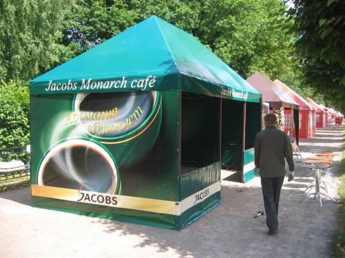торгвые палатки