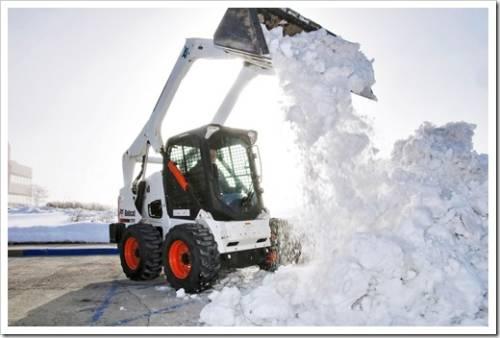 Вывоз снега компанией