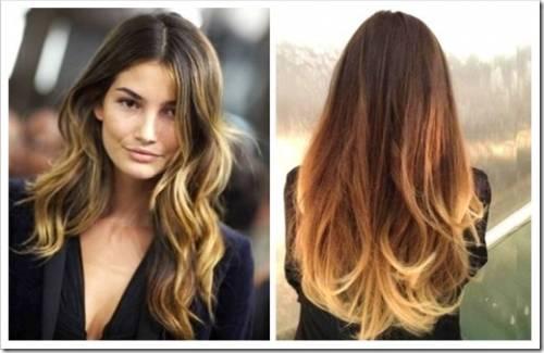 Процедура мелирования волос в салоне красоты