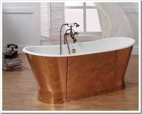 Почему покупать рекомендуется именно чугунную ванну?