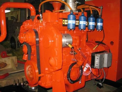 газопоршневой газовый генератор