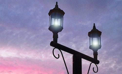 светильник на улице