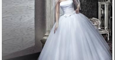 длина свадебного платья