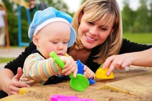 как развивать ребенка в один год