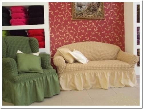 Практичность использования мебельных чехлов