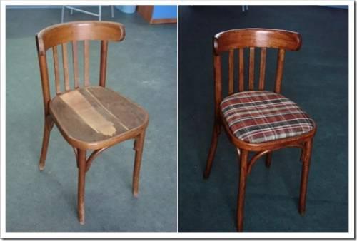 Реставрация деревянного стула