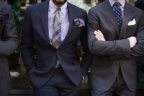 Как подобрать мужской костюм