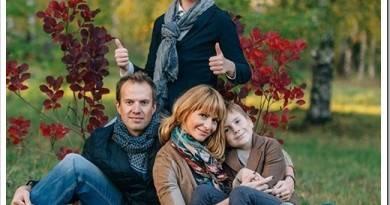 Как одеться на осеннюю семейную фотосессию?