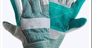 Из чего делают спилковые перчатки?