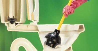Как прочистить унитаз