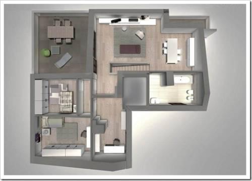 Как из 3 комнатной квартиры сделать 4 комнатную фото