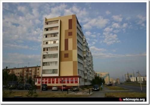 Средняя стоимость однокомнатных квартир