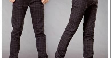 С чем носить клетчатые брюки мужские?
