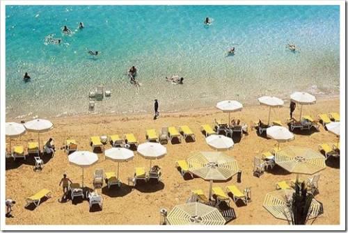 Отдых на Мёртвом море в не сезон