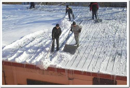 Как долго происходит уборка снега?