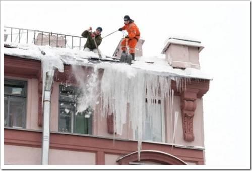 Использование электричества для защиты кровли от снега и наледи