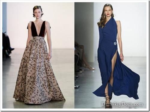 Основные тренды сегмента вечерней одежды