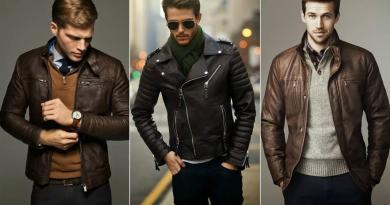 Виды мужских кожаных курток