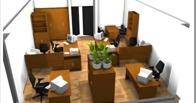 Как расставить столы в офисе