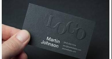 Что писать на визитке?