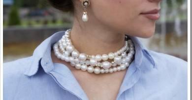 Как носить украшения из жемчуга