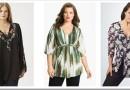 Как подобрать блузу большого размера для женщины