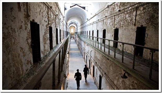 Восточная государственная тюрьма в Филадельфии, США