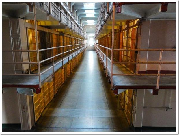 федеральная тюрьма Алькатрас, США