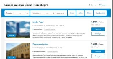 Как выбрать бизнес-центр в СПб с помощью сайта rekorb.ru