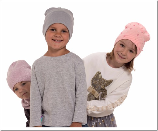 Детские головные уборы от Talvi