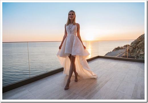 Кому действительно подойдёт короткое свадебное платье?