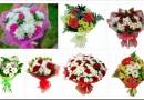 Как собрать букет из роз и хризантем