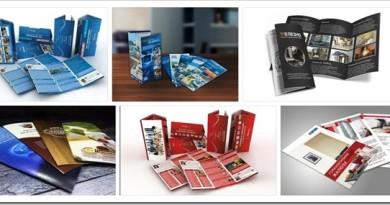 Технология печати и изготовления рекламных буклетов