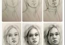 Как рисовать портрет человека с фотографии