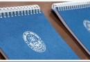 Технология печати блокнотов с логотипом