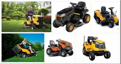 Как выбрать садовый трактор и что он может делать