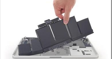 Основные причины поломки батареи ноутбука Macbook