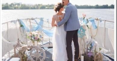 Как организовать свадьбу на теплоходе