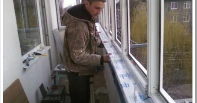 Как устанавливают пластиковые окна на балконе