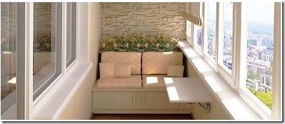 Комфорт на балконе – остекление и утепление различными материалами