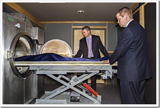 Как кремируют останки?